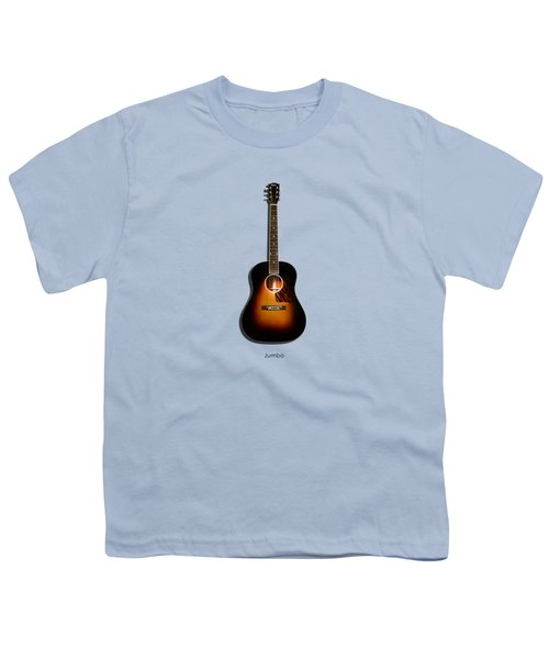 Gibson Original Jumbo 1934 Youth T-Shirt by Mark Rogan