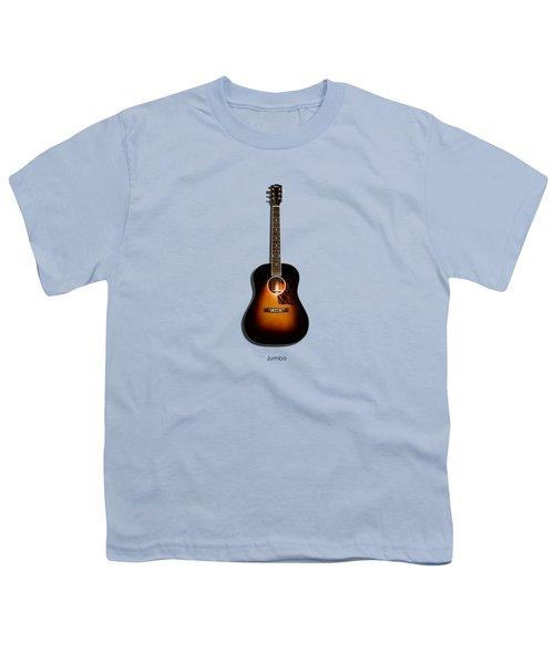 Gibson Original Jumbo 1934 Youth T-Shirt by Mark Rogan
