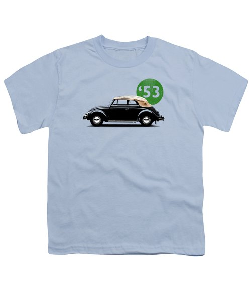 Beetle 53 Youth T-Shirt by Mark Rogan