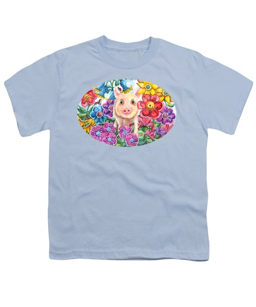 Penelope Youth T-Shirt by Shelley Wallace Ylst
