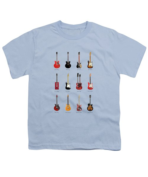Guitar Icons No1 Youth T-Shirt