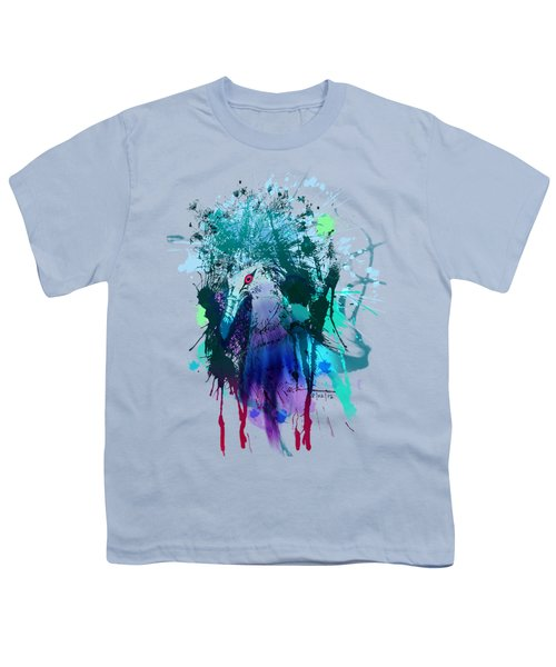 Victoria Crowned Pigeon Youth T-Shirt