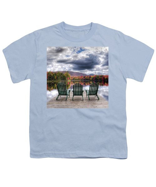 Youth T-Shirt featuring the photograph Autumn On West Lake by David Patterson