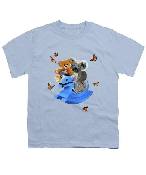 Baby Koala Bear Rocks Youth T-Shirt