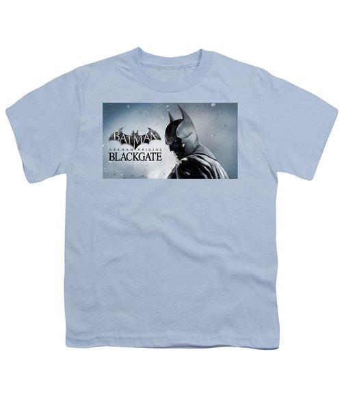 Batman Arkham Origins Blackgate Youth T-Shirt