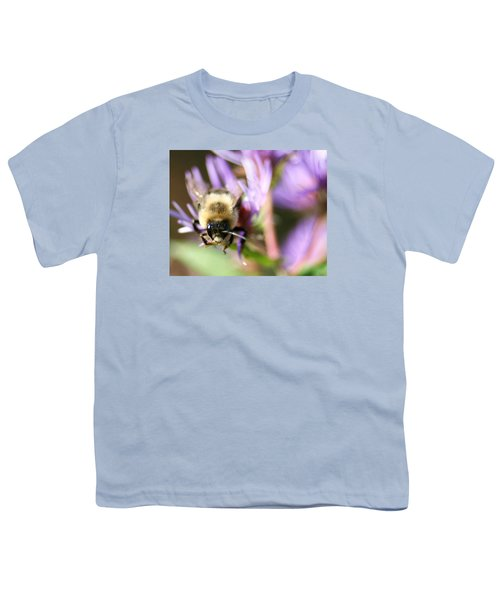 Bee Mustache Youth T-Shirt