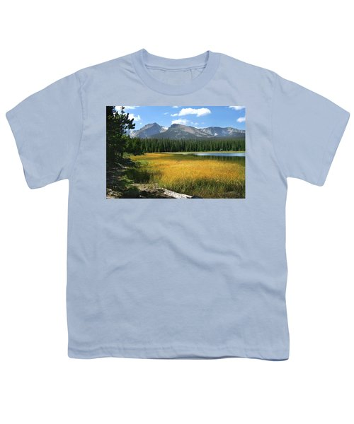 Youth T-Shirt featuring the photograph Autumn At Bierstadt Lake by David Chandler