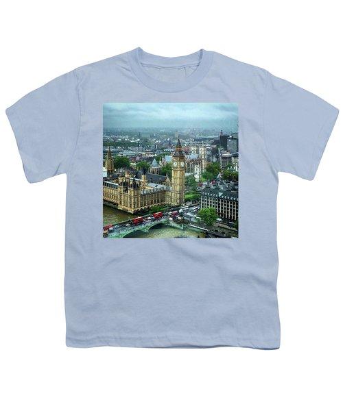 Big Ben From The London Eye Youth T-Shirt