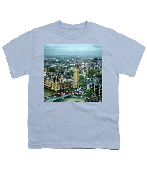 Big Ben From The London Eye Youth T-Shirt
