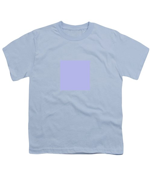 Blue Ultra Soft Lavender Colour Palette Youth T-Shirt