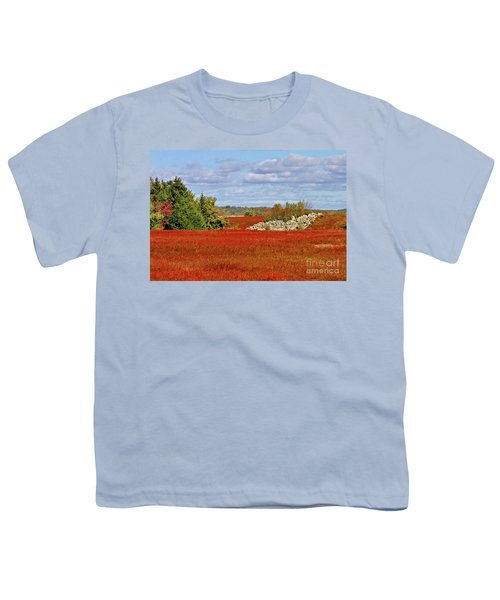 Blueberry Field Youth T-Shirt