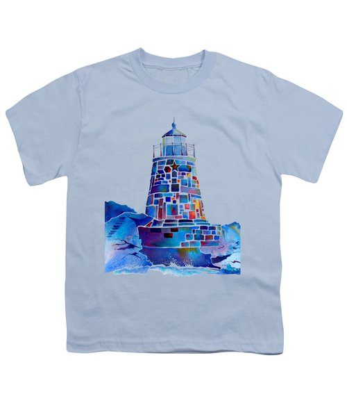 Castle Hill Newport Lighthouse Youth T-Shirt