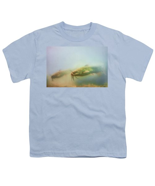 Cats In The Water Youth T-Shirt