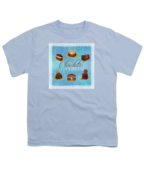 Chocolate Candies Youth T-Shirt