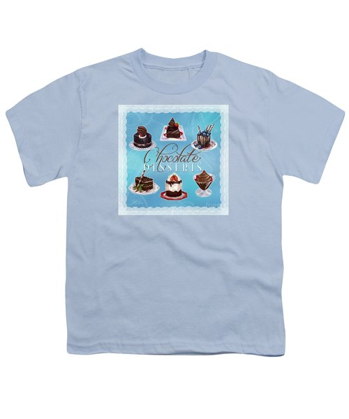 Chocolate Desserts Youth T-Shirt