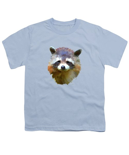 Colourful Raccoon Youth T-Shirt
