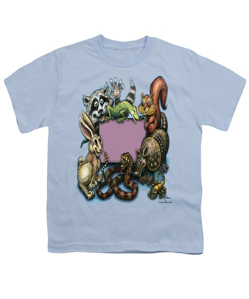 Critters Youth T-Shirt by Kevin Middleton