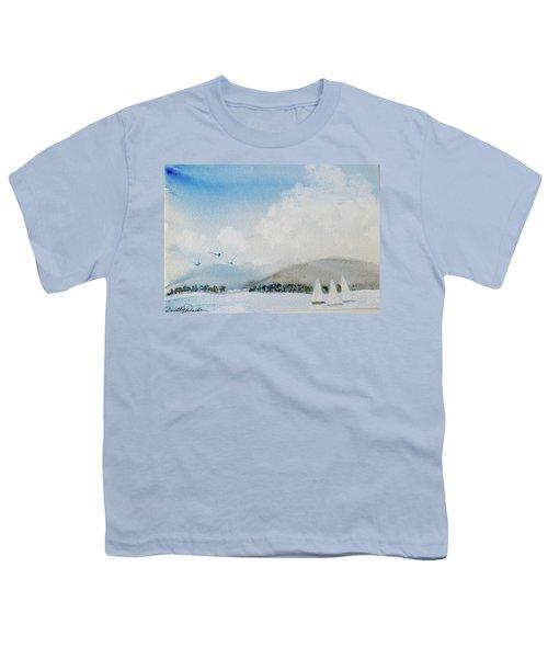 Cruising In Company Along The Tasmania Coast  Youth T-Shirt