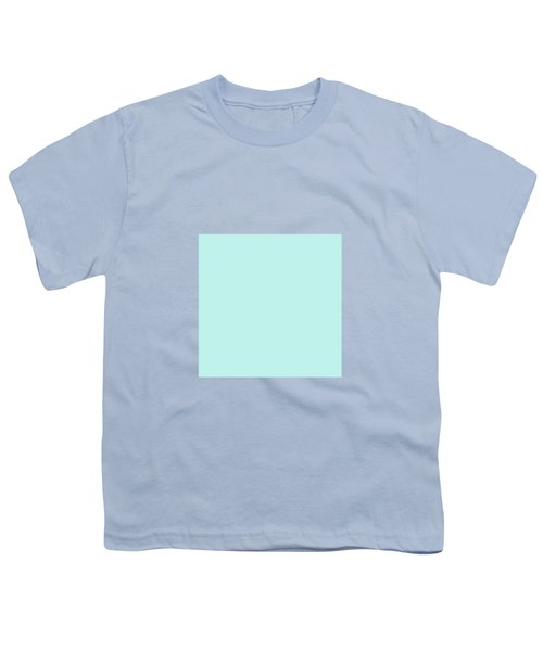 Cyan Ultra Soft Pastels Colour Palette Youth T-Shirt