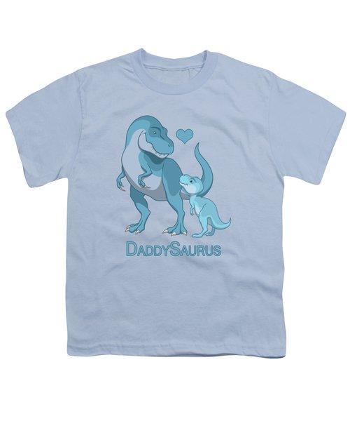 Daddy Tyrannosaurus Rex Baby Boy Youth T-Shirt