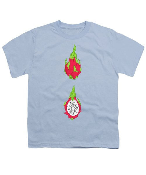 Dragon Fruit Youth T-Shirt by Evgenia Chuvardina