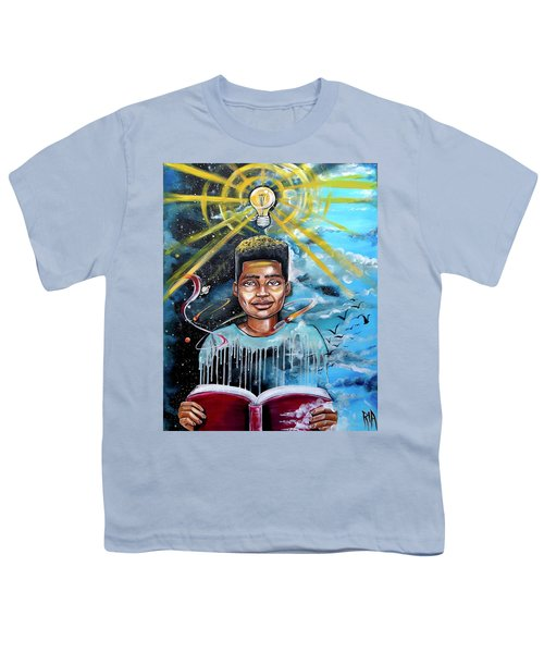 Drenched In Knowledge Youth T-Shirt