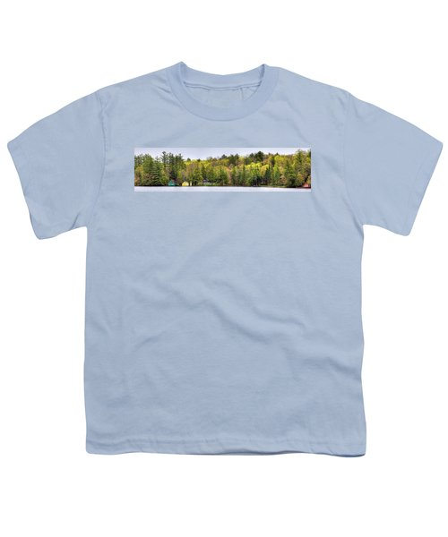 Early Spring Panorama Youth T-Shirt by David Patterson