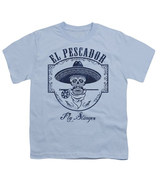 El Pescador Youth T-Shirt by Kevin Putman