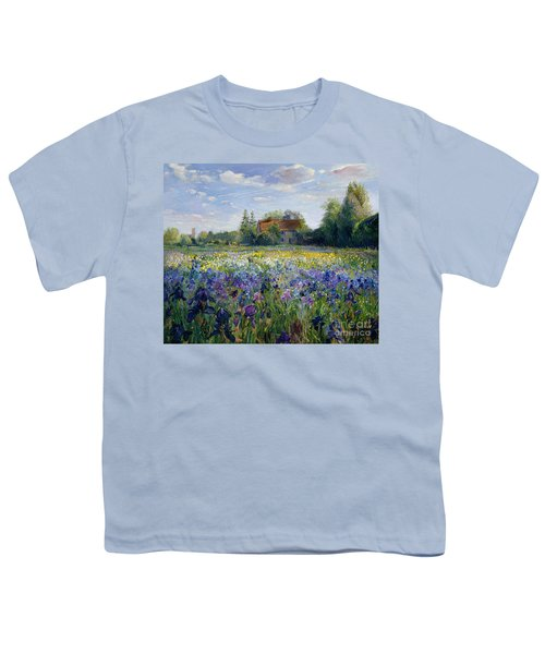 Evening At The Iris Field Youth T-Shirt