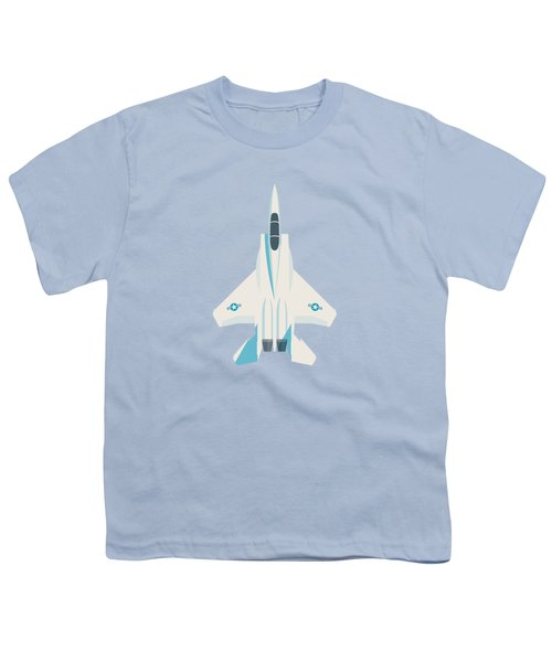 F15 Eagle Fighter Jet Aircraft - Sky Youth T-Shirt