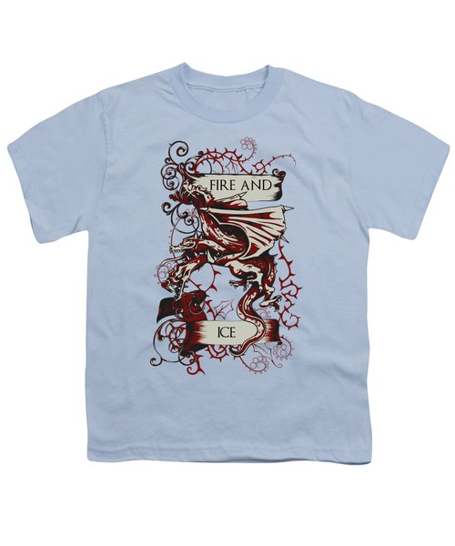 Fire And Ice Youth T-Shirt