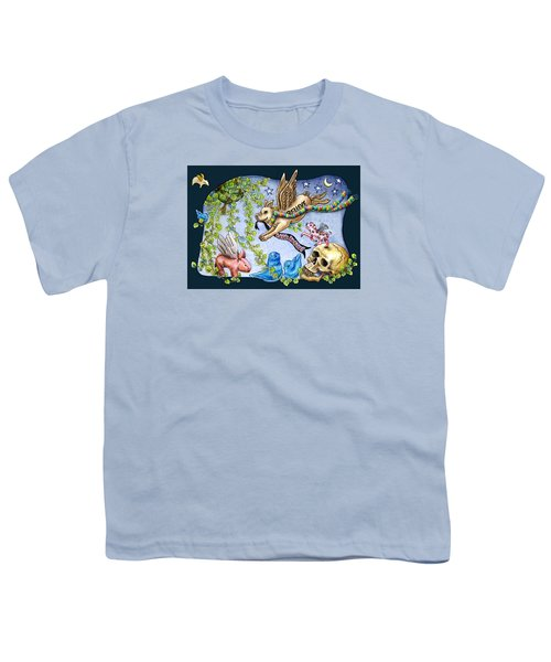 Flying Pig Party 2 Youth T-Shirt