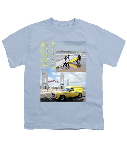 Youth T-Shirt featuring the photograph Forever Summer 6 by Linda Lees
