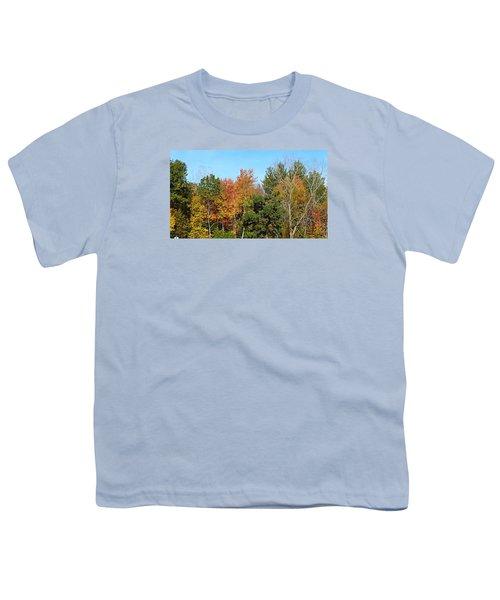 Full Fall Youth T-Shirt by Jana E Provenzano