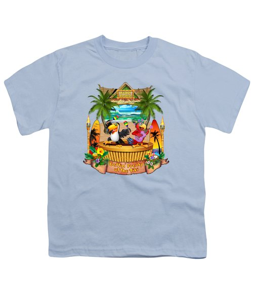 Gettin' Freaky At The Tiki Youth T-Shirt