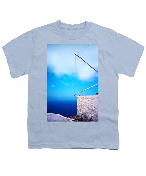 Greek Windmill Youth T-Shirt