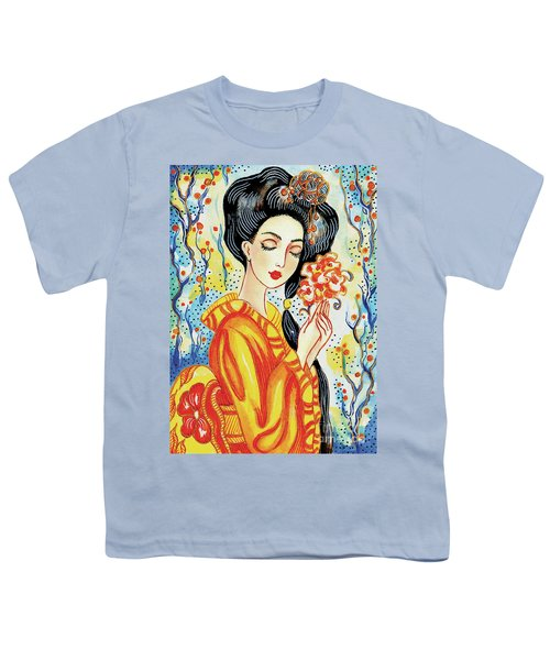 Youth T-Shirt featuring the painting Harmony by Eva Campbell