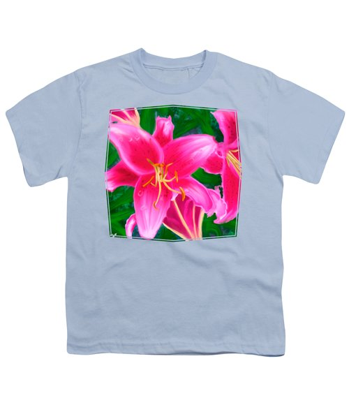 Hawaiian Flowers Youth T-Shirt