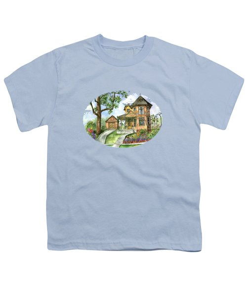 Hilltop Home Youth T-Shirt by Shelley Wallace Ylst