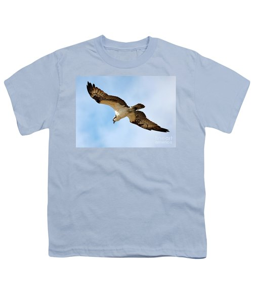 Hunter Osprey Youth T-Shirt by Carol Groenen