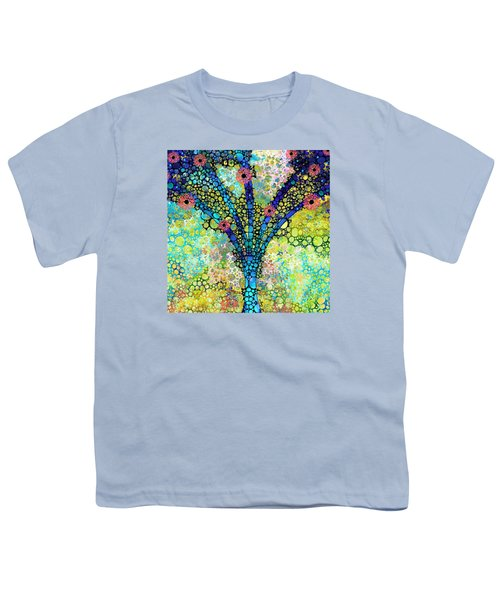 Inspirational Art - Absolute Joy - Sharon Cummings Youth T-Shirt by Sharon Cummings
