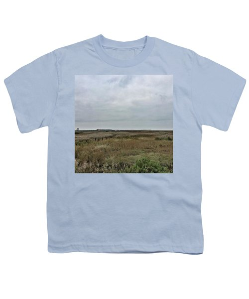 It's A Grey Day In North Norfolk Today Youth T-Shirt by John Edwards