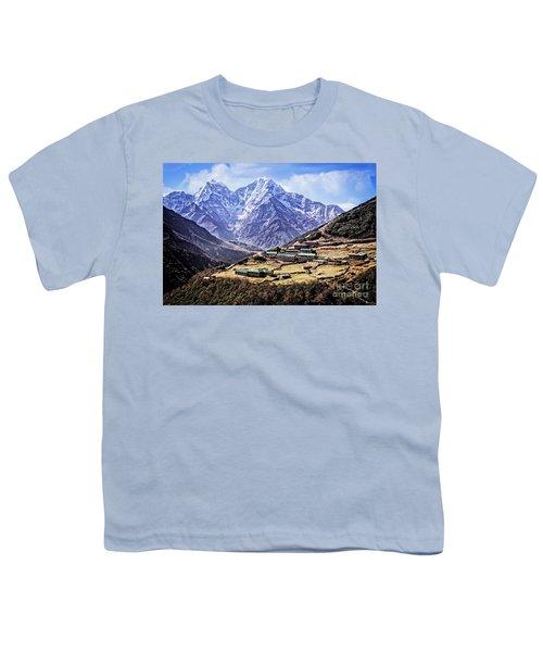 Kangtega And Thamserku Youth T-Shirt