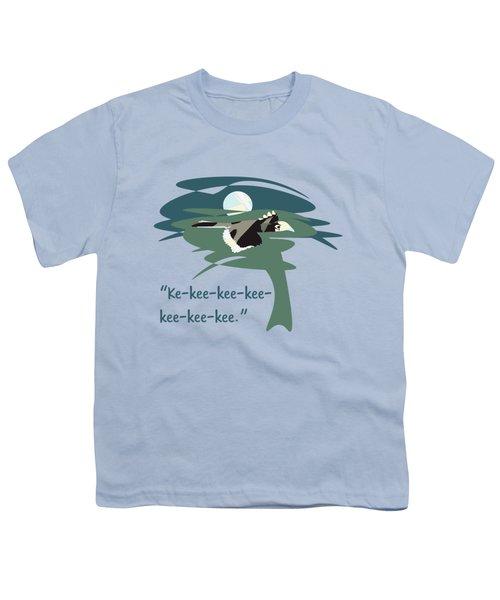 Kelingking Hornbill Youth T-Shirt by Geckojoy Gecko Books