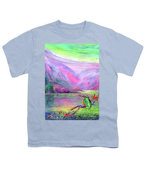 Kingfisher, Shimmering Streams Youth T-Shirt