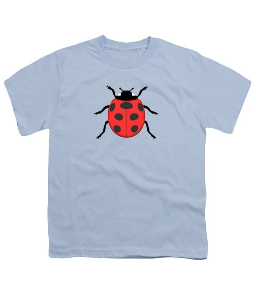 Ladybug Youth T-Shirt by Gaspar Avila