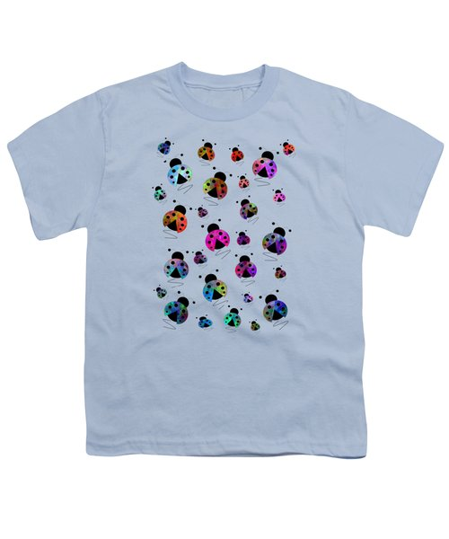 Ladybugs In Flight Youth T-Shirt