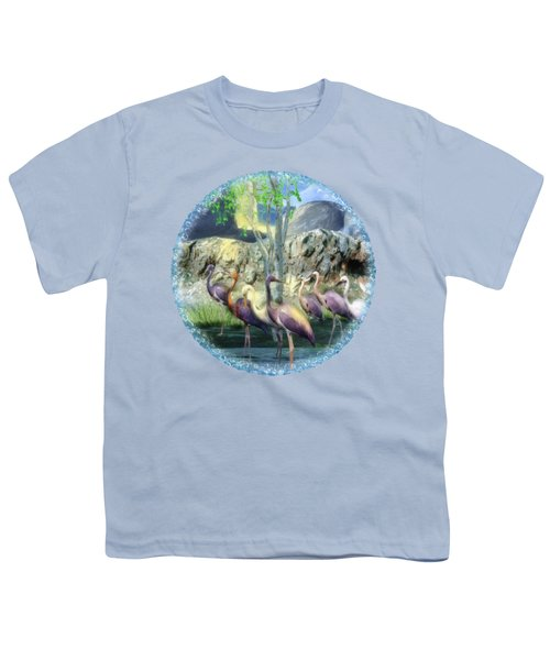 Lakeside View Youth T-Shirt by Sharon and Renee Lozen