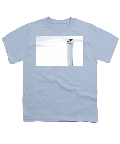 Youth T-Shirt featuring the photograph Lighthouse At Cape Jervis by Stephen Mitchell