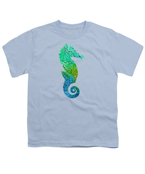 Lively Seahorse Youth T-Shirt
